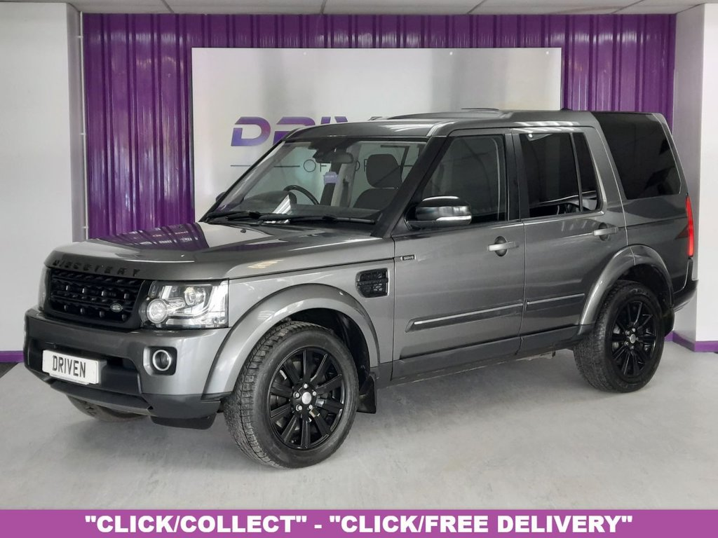USED 2014 64 LAND ROVER DISCOVERY 4 3.0 SDV6 SE 5d 255 BHP