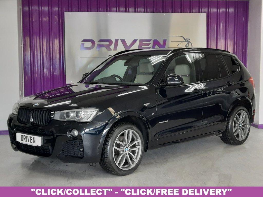 USED 2014 64 BMW X3 2.0 XDRIVE20D M SPORT 5d 188 BHP