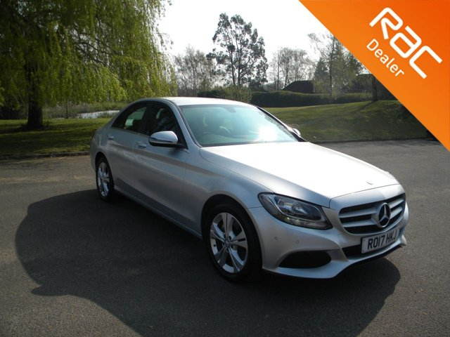 USED 2017 17 MERCEDES-BENZ C-CLASS 2.1 C 220 D SE EXECUTIVE EDITION 4d 170 BHP BY APPOINTMENT ONLY -  Full Leather, Heated Front Seats, Sat Nav, Reversing Camera, Alloy Wheels, DAB