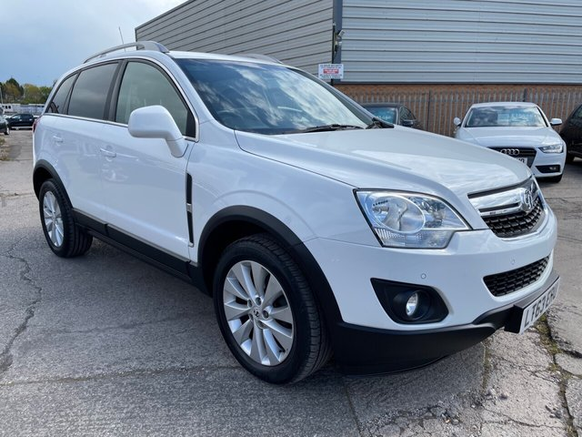 USED 2013 63 VAUXHALL ANTARA 2.2 DIAMOND AUTOMATIC CDTI 5d 161 BHP *** FINANCE & PART EXCHANGE WELCOME *** DIESEL AUTOMATIC 4X4 FULL BLACK LEATHER HEATED SEATS BLUETOOTH PHONE AIR/CON CRUISE CONTROL PARKING SENSORS