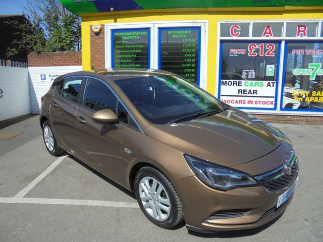 USED 2016 16 VAUXHALL ASTRA 1.6 TECH LINE CDTI 5d 108 BHP ** TEST DRIVE TODAY **