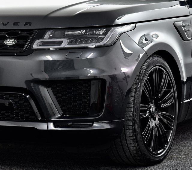 """USED 2018 18 LAND ROVER RANGE ROVER SPORT 3.0 SD V6 HSE Dynamic Auto 4WD (s/s) 5dr £7k Extra's, Black Pack, 22""""s"""
