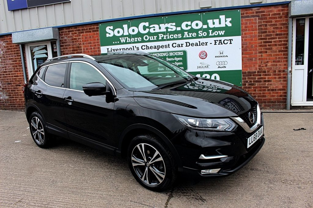 USED 2018 68 NISSAN QASHQAI 1.5 DCI N-CONNECTA 5d 114 BHP +PANORAMIC ROOF +NAV +CAMERA.