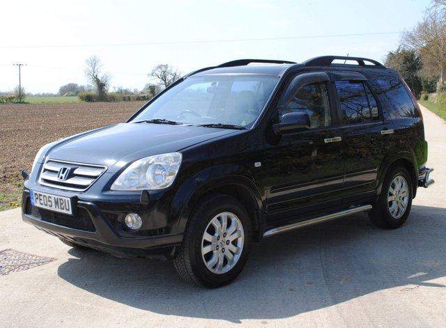 2005 05 HONDA CR-V 2.2 I-CTDI EXECUTIVE 5d 138 BHP