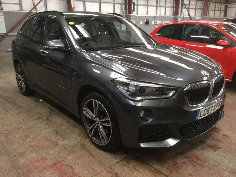 USED 2017 67 BMW X1 2.0 XDRIVE20D M SPORT 5d AUTO 188 BHP +AUTO +SAT NAV +HEATED LEATHER
