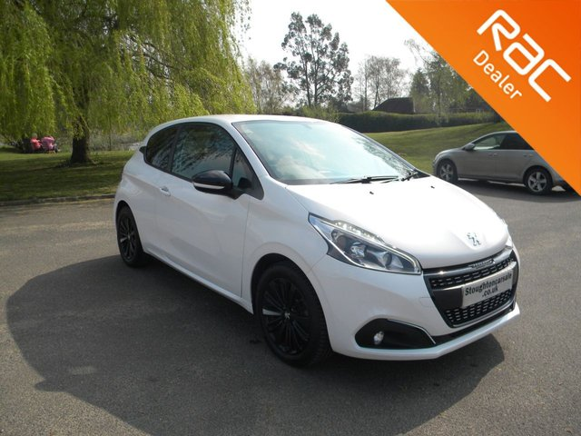 USED 2018 18 PEUGEOT 208 1.2 PURETECH BLACK EDITION 3d 82 BHP BY APPOINTMENT ONLY - Apple Car Play/Android Auto, Alloy Wheels, Cruise Control, Touch Screen Radio, DAB