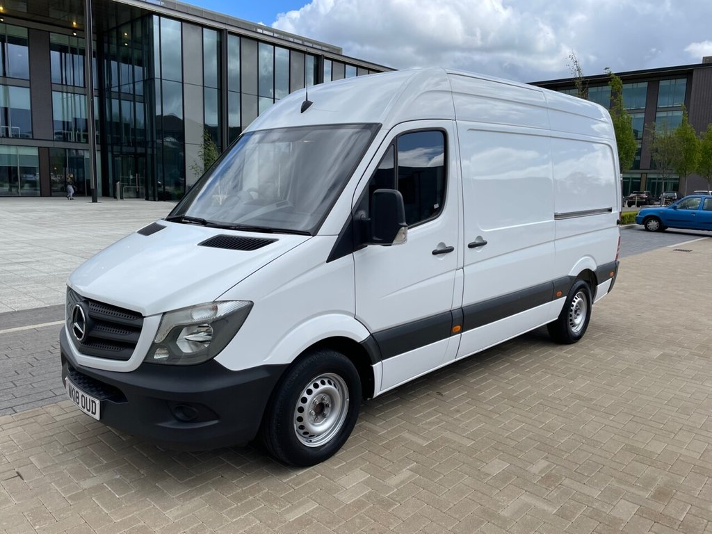 USED 2018 18 MERCEDES-BENZ SPRINTER 314 2.1CDI EURO 6 140ps MWB HIGH ROOF *E/W*CRUISE AND LIMITER* MWB HR-140PS-EW-CRUISE-LIMITER