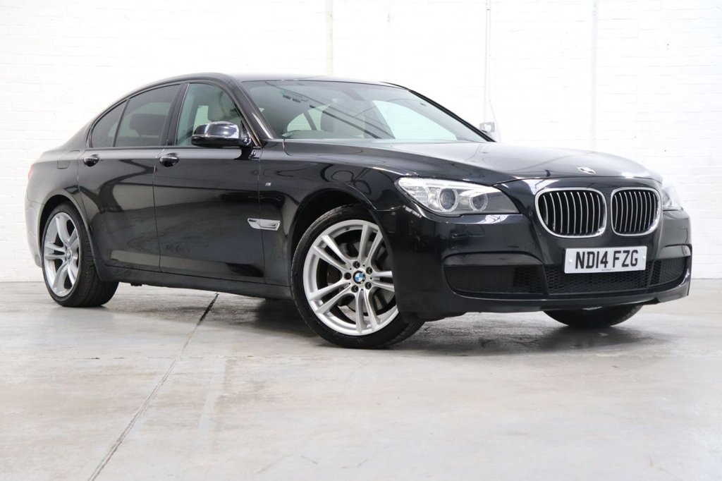 USED 2014 14 BMW 7 SERIES 3.0 730D M SPORT 4d 255 BHP Satnav + Cruise + Parking Aid + Dab