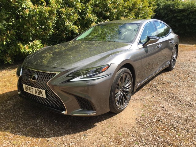 View our LEXUS LS500H