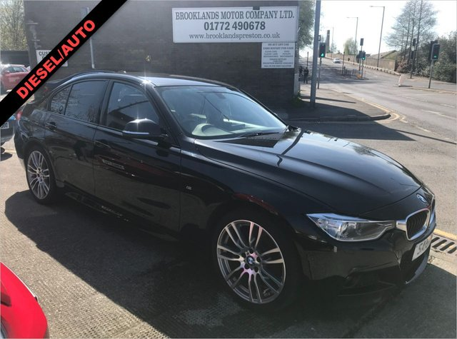 USED 2015 15 BMW 3 SERIES 320D XDRIVE M SPORT 4X4 AUTOMATIC 4DR 184 BHP