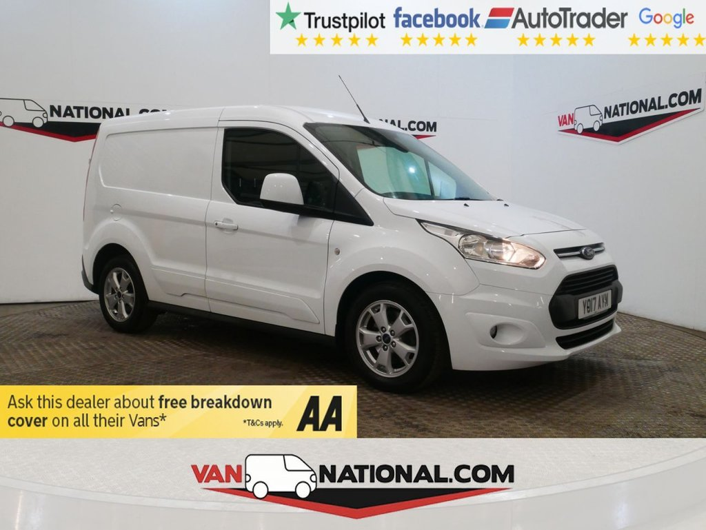 USED 2017 17 FORD TRANSIT CONNECT 1.5 200 LIMITED P/V 120 BHP WWW.VANNATIONAL.COM