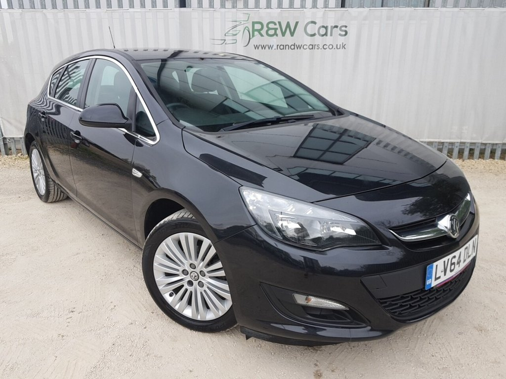 USED 2014 64 VAUXHALL ASTRA 1.6 EXCITE 5d 113 BHP