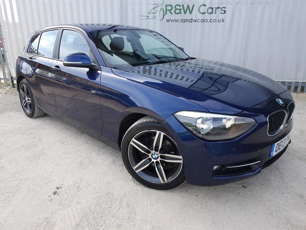 USED 2013 13 BMW 1 SERIES 2.0 118D SPORT 5d 141 BHP