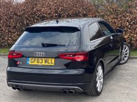USED 2014 63 AUDI A3 2.0 S3 QUATTRO 3d 405 BHP * 2 OWNERS FROM NEW * 128 POINT AA INSPECTED * LOW MILEAGE CAR *