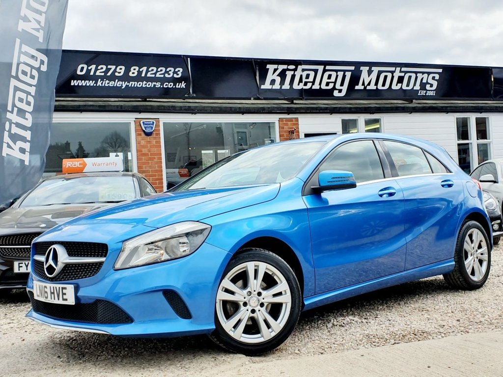 USED 2016 16 MERCEDES-BENZ A-CLASS A180d SPORT LEATHER