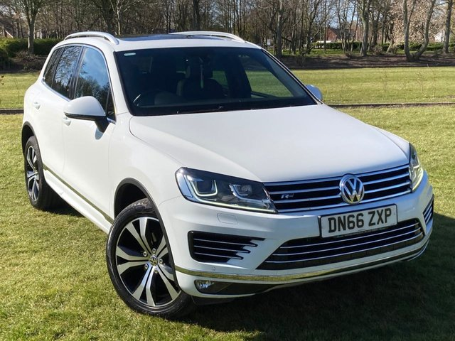USED 2016 66 VOLKSWAGEN TOUAREG 3.0 V6 R-LINE TDI BLUEMOTION TECHNOLOGY 5d 259 BHP
