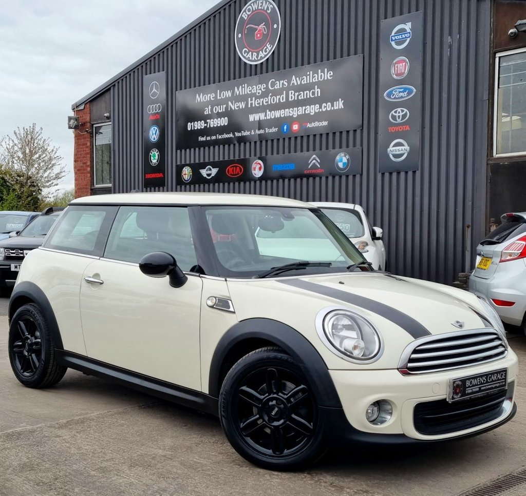 USED 2013 63 MINI HATCH ONE 1.6 ONE BAKER STREET 3D 96 BHP 2 Owners - 7 Services - LTD Edition