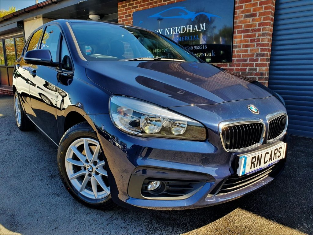 USED 2017 17 BMW 2 SERIES 1.5 218I SE ACTIVE TOURER 5DR 134 BHP *SAT NAV - HEATED SEATS - R/SENSORS*