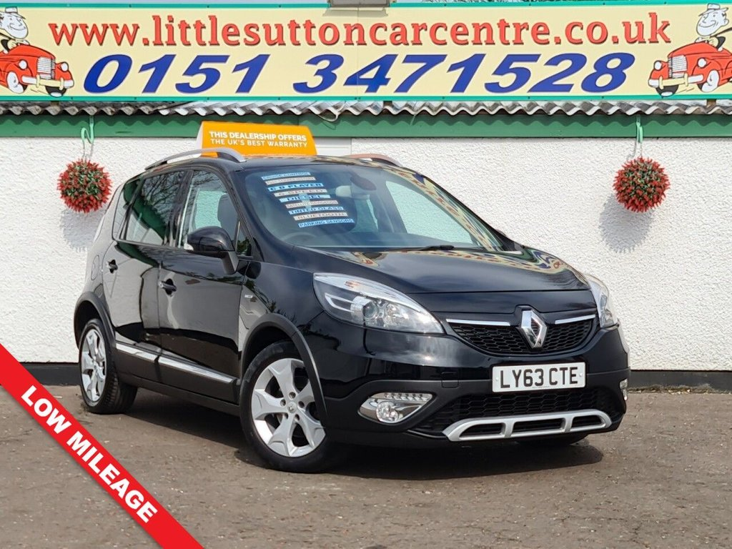 USED 2013 63 RENAULT SCENIC 1.5 XMOD DYNAMIQUETT BOSEPLUS ENERGY DCI S/S 5d 110 BHP