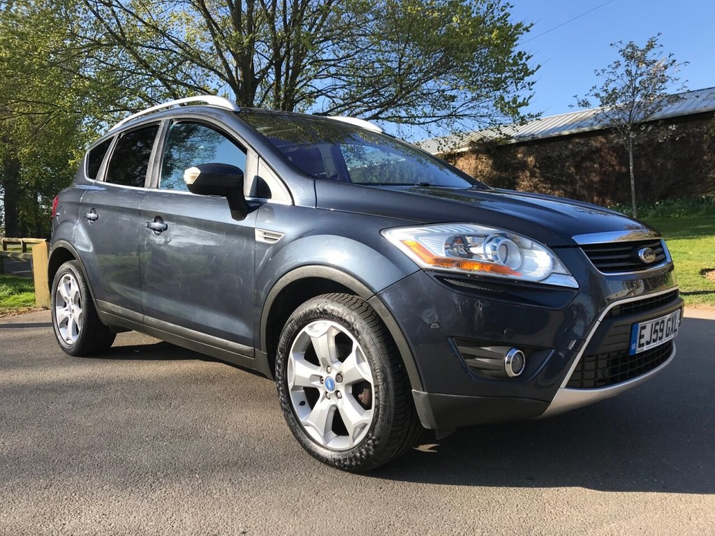USED 2009 59 FORD KUGA 2.0 TITANIUM TDCI 2WD 5d 134 BHP Huge Specification Kuga With Full Main Agent Service History.