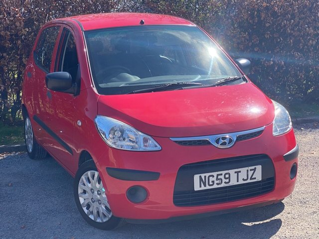 USED 2010 59 HYUNDAI I10 1.2 CLASSIC 5d 77 BHP * 12 MONTHS AA BREAKDOWN COVER * COMPREHENSIVE SERVICE HISTORY *