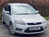 USED 2008 08 FORD FOCUS 1.8 TITANIUM 5d 125 BHP GREAT VALUE FOR MONEY FAMILY HATCHBACK