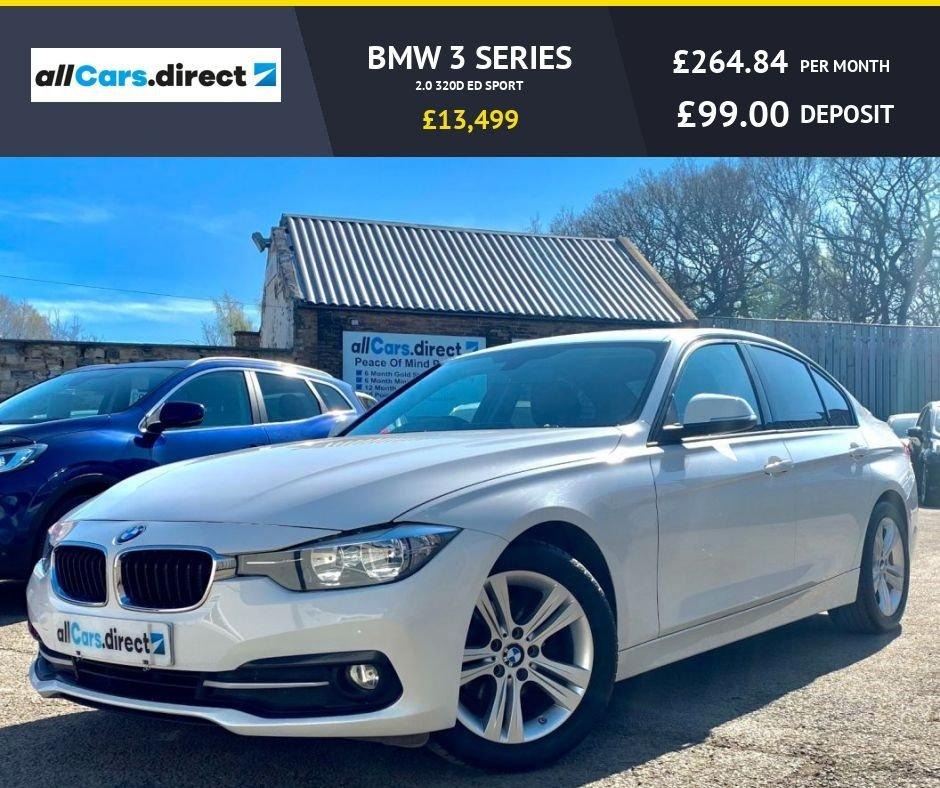 USED 2015 BMW 3 SERIES 2.0 320D ED SPORT