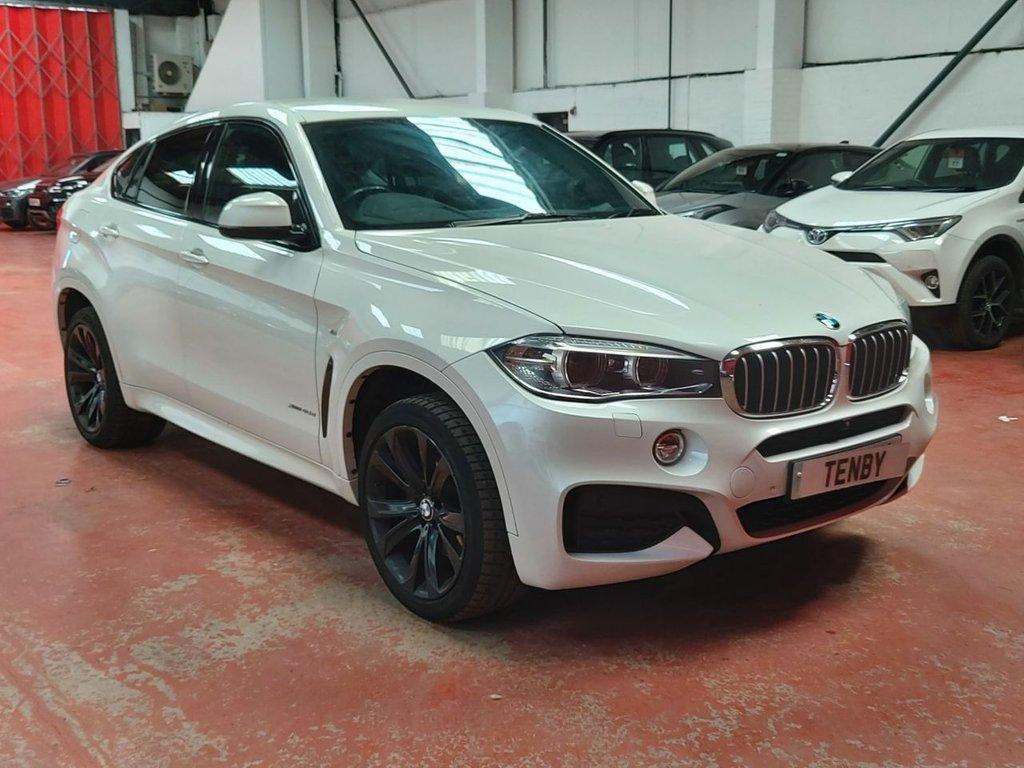 USED 2016 16 BMW X6 3.0 XDRIVE40D M SPORT 4d 309 BHP