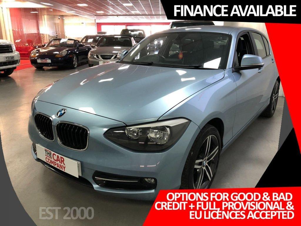 USED 2014 64 BMW 1 SERIES 2.0 116D SPORT 5d 114 BHP * BLUETOOTH * * MOT NOVEMBER * £30 A YEAR TAX *
