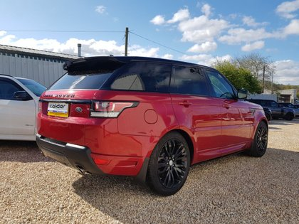 USED 2016 16 LAND ROVER RANGE ROVER SPORT 3.0 SDV6 AUTOBIOGRAPHY DYNAMIC 5d 306 BHP