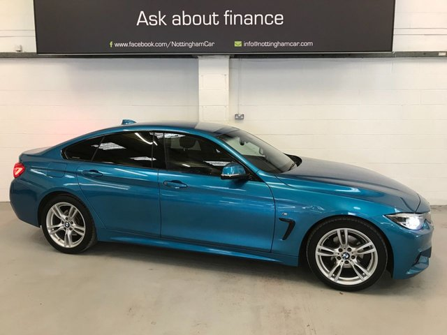USED 2018 68 BMW 4 SERIES 2.0 420D M SPORT GRAN COUPE 4d 188 BHP