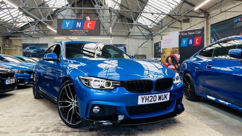 USED 2020 20 BMW 4 SERIES 2.0 420i GPF M Sport Gran Coupe Auto (s/s) 5dr PERFORMANCEKIT+20S+2020REG
