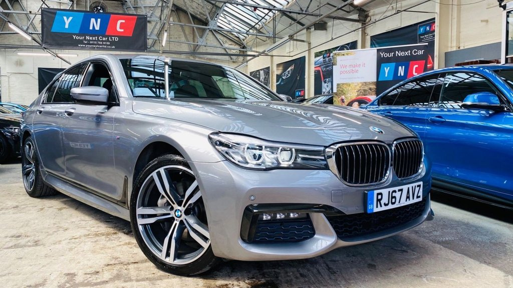 USED 2017 67 BMW 7 SERIES 3.0 730d M Sport Auto xDrive (s/s) 4dr 73K WHEN NEW! 1 OWN VAT Q