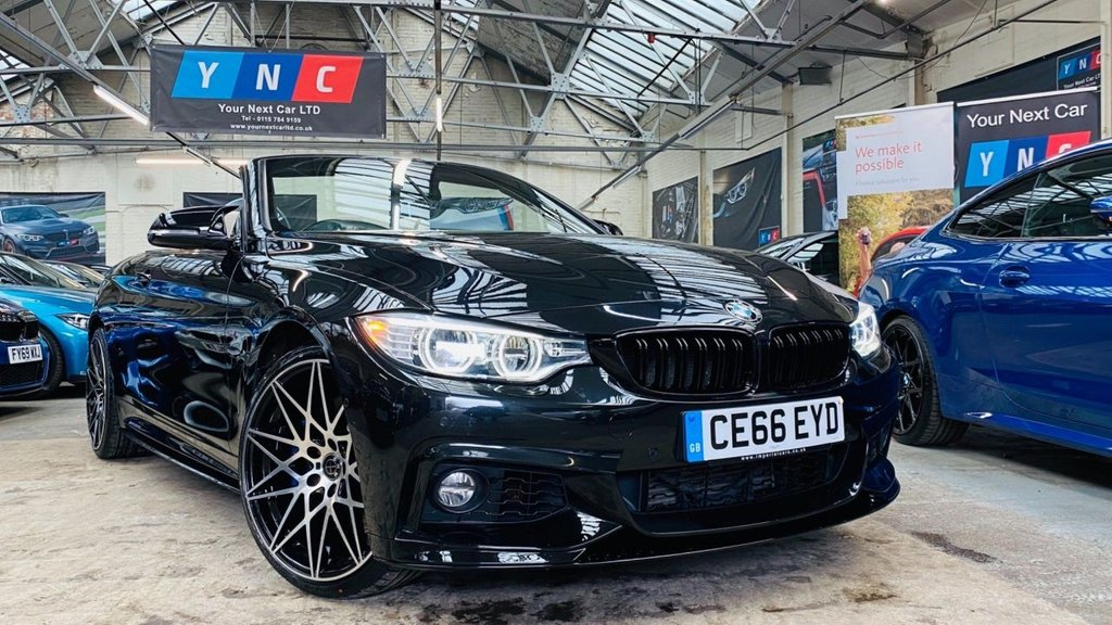 USED 2016 66 BMW 4 SERIES 3.0 435d M Sport Auto xDrive 2dr PERFORMANCEKIT+20S+HUGESPEC