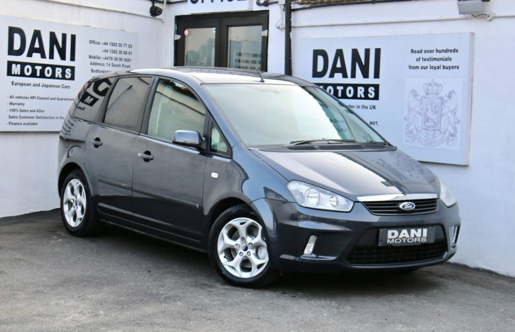 USED 2008 08 FORD C-MAX 2.0 Zetec 5dr PARKING AID*GREAT VALUE