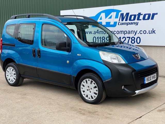 2010 10 PEUGEOT BIPPER 1.4 HDi 8v Tepee Outdoor 5dr