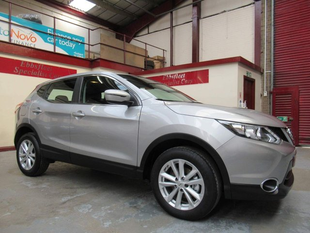 USED 2016 66 NISSAN QASHQAI 1.5 dCi Acenta (Tech Pack) 5dr ***40000 MILES F/S/H***
