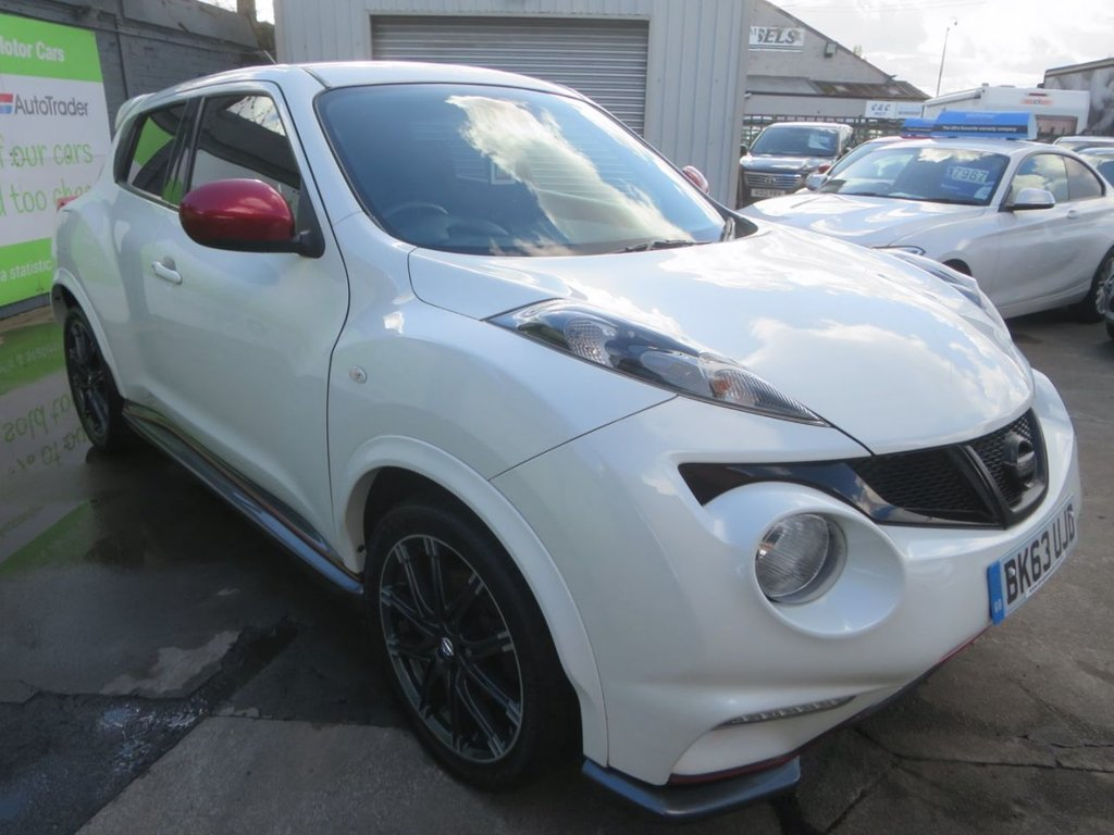 USED 2013 63 NISSAN JUKE 1.6 NISMO DIG-T 5d 200 BHP * FINANCE AND UK DELIVERY AVAILABLE! *