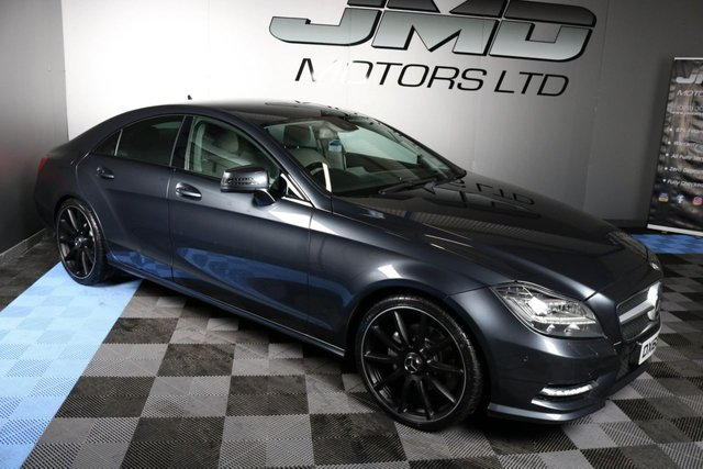 USED 2013 63 MERCEDES-BENZ CLS CLASS LATE 2013 MERCEDES CLS250 CDI BLUEEFFICIENCY AMG SPORT NIGHT EDITION STYE AUTO 204 BHP ( FINANCE & WARRANTY)