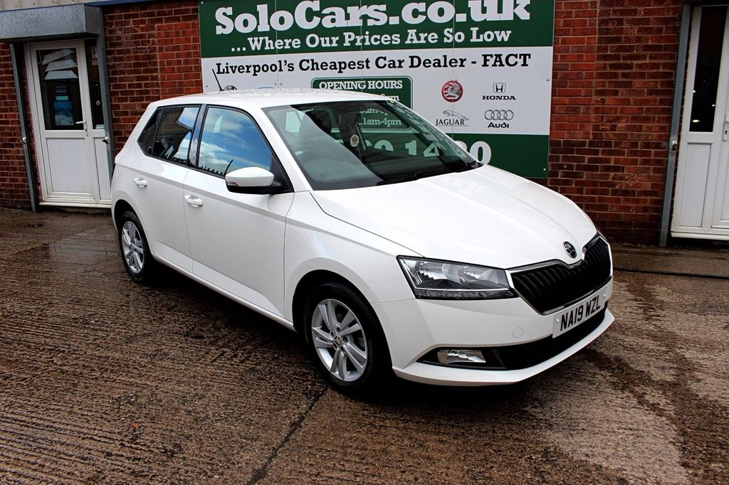 USED 2019 19 SKODA FABIA 1.0 SE MPI 5d 74 BHP +APPLE CAR PLAY +CRUISE +DAB.