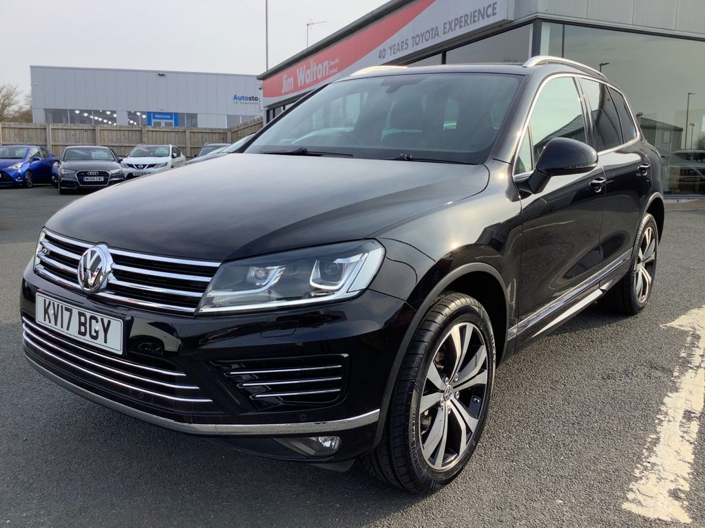 USED 2017 17 VOLKSWAGEN TOUAREG 3.0 V6 R-LINE TDI BLUEMOTION TECHNOLOGY 5d 259 BHP