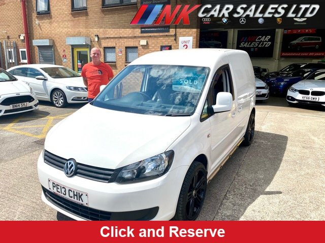 2013 13 VOLKSWAGEN CADDY 1.6 C20 TDI 75 74 BHP LOW MILEAGE CADDY NO VAY YES NO VAT SOLD TO KEVIN FROM HULL