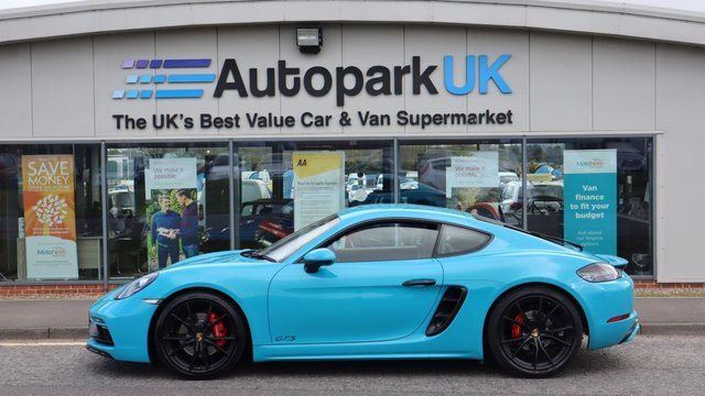 USED 2018 18 PORSCHE 718 2.5 CAYMAN GTS PDK 2d 360 BHP LOW DEPOSIT OR NO DEPOSIT FINANCE AVAILABLE . COMES USABILITY INSPECTED WITH 30 DAYS USABILITY WARRANTY + LOW COST 12 MONTHS ESSENTIALS WARRANTY AVAILABLE FROM ONLY £199 (VANS AND 4X4 £299) DETAILS ON REQUEST. ALWAYS DRIVING DOWN PRICES . BUY WITH CONFIDENCE . OVER 1000 GENUINE GREAT REVIEWS OVER ALL PLATFORMS FROM GOOD HONEST CUSTOMERS YOU CAN TRUST .