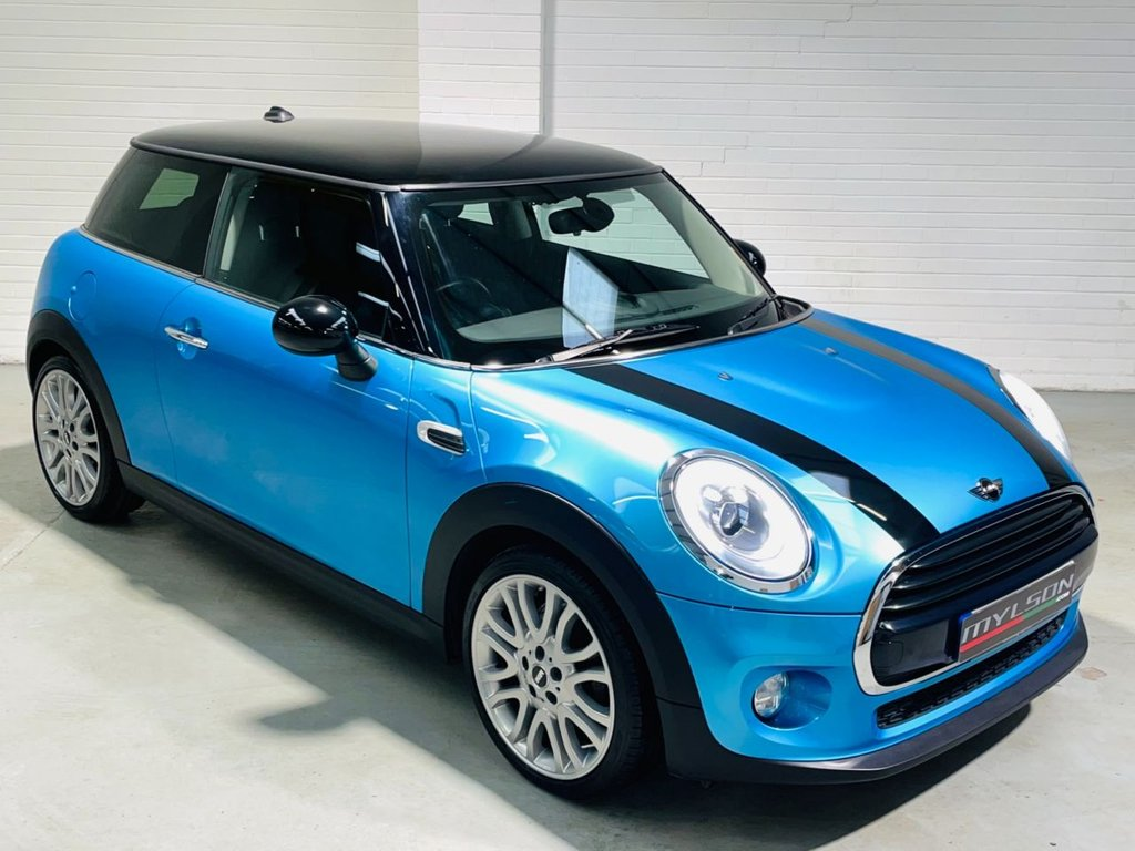 USED 2016 16 MINI HATCH COOPER 1.5 COOPER D 3d 114 BHP Zero Tax|18in|LEDs|Visual Boost|CHILI|Leather|FINANCE