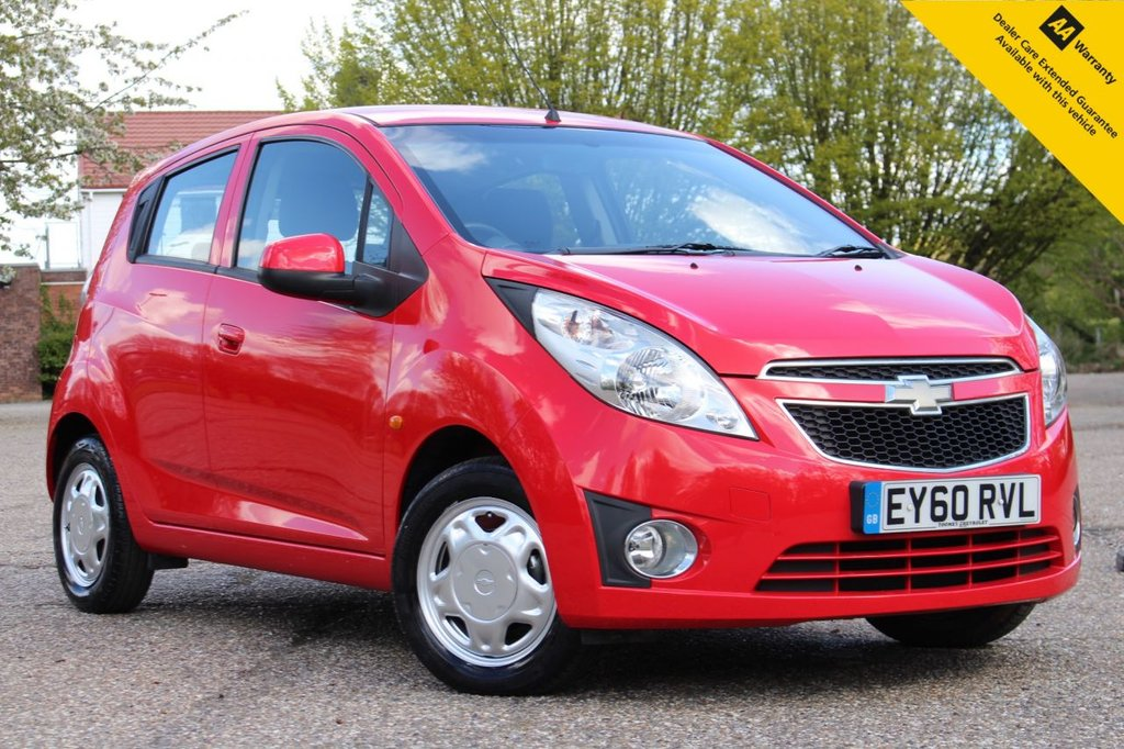 USED 2010 60 CHEVROLET SPARK 1.0 LS 5d 67 BHP FRESHLY SERVICED + FRESH ADVISORY FREE MOT ** AMAZING LOW MILEAGE ** LOW RATE & DEPOSIT FINANCE AVAILABLE ** CLICK & COLLECT + NATIONWIDE DELIVERY AVAILABLE ** BUY ONLINE IN CONFIDENCE FROM A MULTI AWARD WINNING 5* RATED DEALER ** 14 DAY MONEY BACK GUARANTEE **