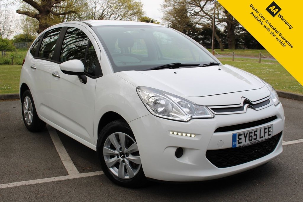 USED 2015 65 CITROEN C3 1.0 PURETECH VTR PLUS 5d 67 BHP ** FULL SERVICE HISTORY ** BRAND NEW ADVISORY FREE MOT + SERVICE ** AIR CONDITIONING ** CRUISE CONTROL + SPEED LIMITER ** BLUETOOTH + USB ** ELECTRIC DOOR MIRRORS ** ALLOY WHEELS ** ONLY £20 ROAD TAX ** ULEZ CHARGE EXEMPT ** BUY ONLINE IN CONFIDENCE FROM A MULTI AWARD WINNING 5* RATED DEALER **