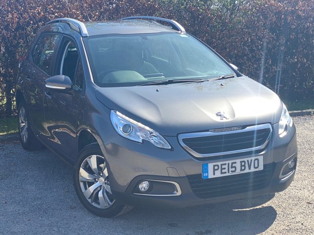 USED 2015 15 PEUGEOT 2008 1.4 HDI ACTIVE 5d FULL SERVICE HISTORY, MOT UNTIL FEBRUARY 2022, BLUETOOTH, CRUISE CONTROL