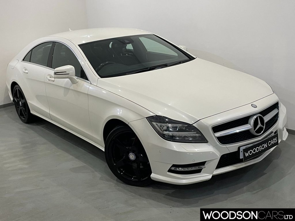 USED 2013 13 MERCEDES-BENZ CLS CLASS 2.1 CLS250 CDI BLUEEFFICIENCY AMG SPORT 4d 204 BHP Leather / Xenon Lights / LED Lights / Cruise Control / Isofix