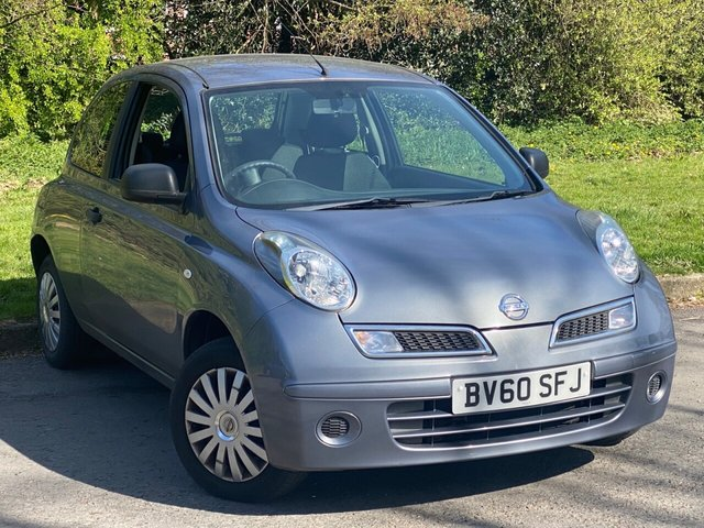 USED 2010 60 NISSAN MICRA 1.2 VISIA 3d 80 BHP LOW MILEAGE FAMILY CAR