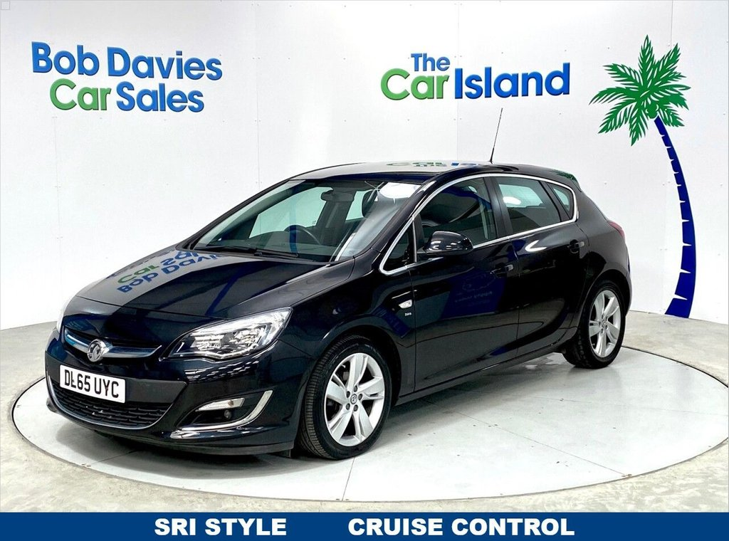 """USED 2015 65 VAUXHALL ASTRA 1.6 SRI 5d 113 BHP 17"""" Alloy Wheels, Cruise Control, only 38000 miles"""
